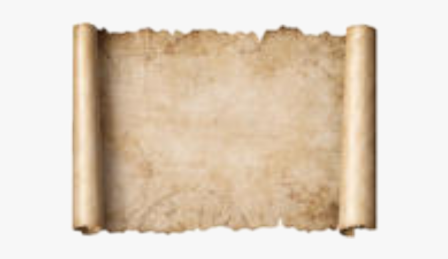 #scroll #parchment #royal - Treasure Map Scroll, Transparent Clipart
