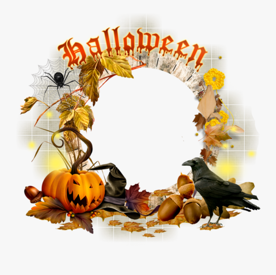 #mq #halloween #frame #frames #border #borders - Halloween Borders And Frames, Transparent Clipart