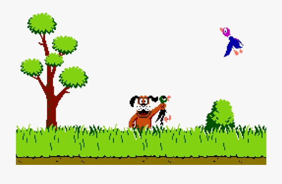 Duck Hunt Duck Png - Duck Hunt Png, Transparent Clipart