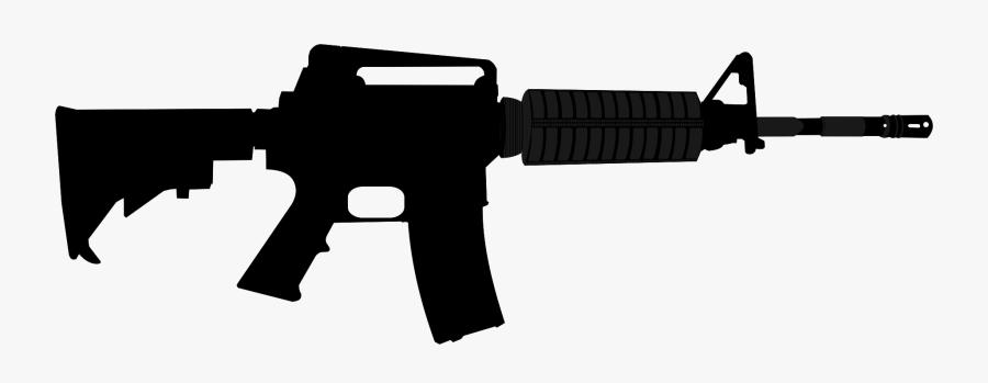 Ar Style Rifle Assault - M16 Clipart, Transparent Clipart