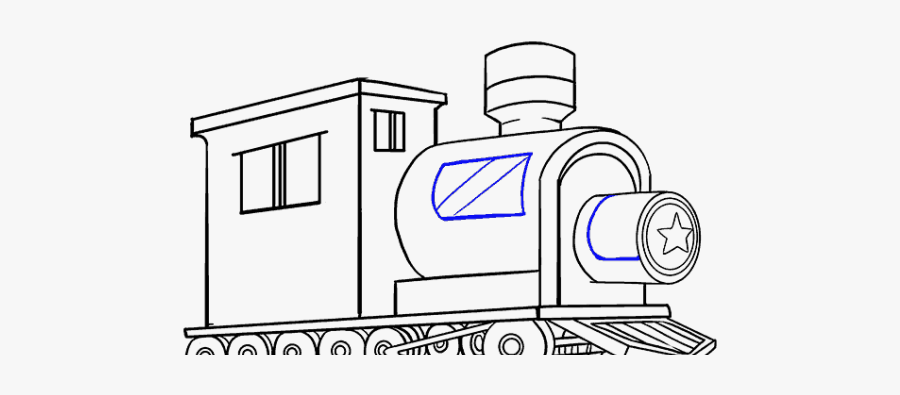 Train Drawing Easy Way Free Transparent Clipart Clipartkey