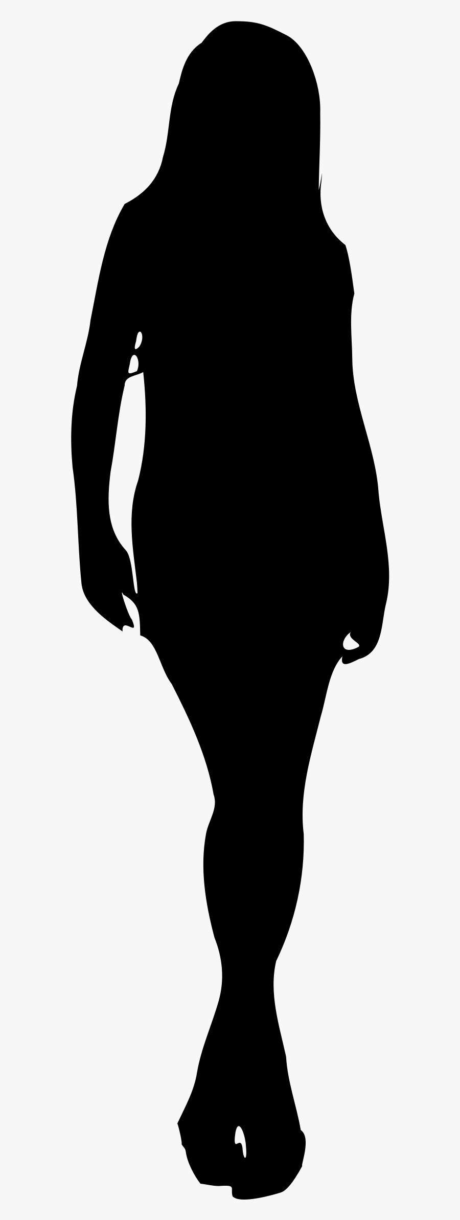 Silhouette Of A Woman Transparent, Transparent Clipart
