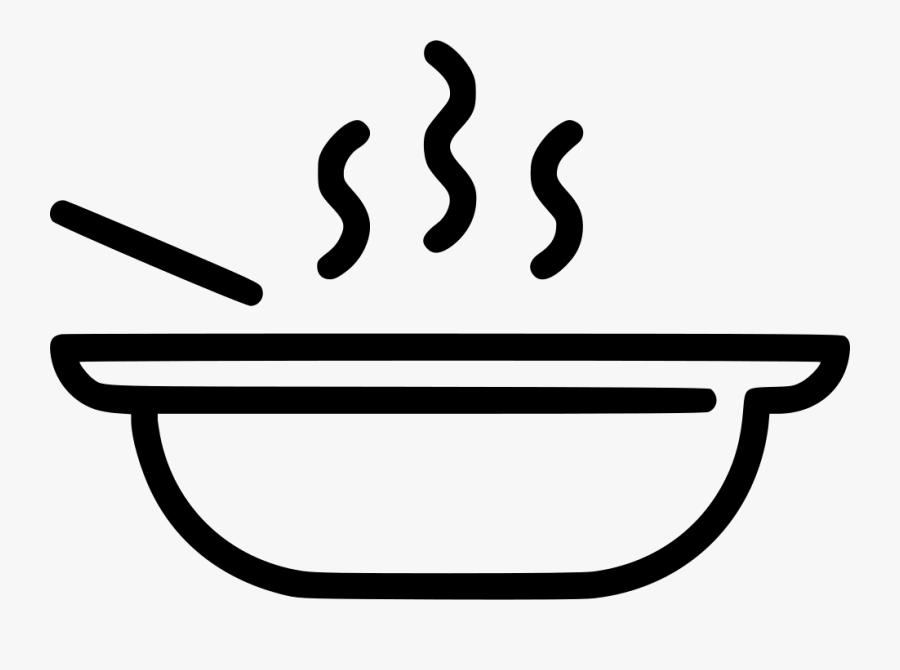 Soup Gambar Makanan Png Hitam Putih Free Transparent Clipart