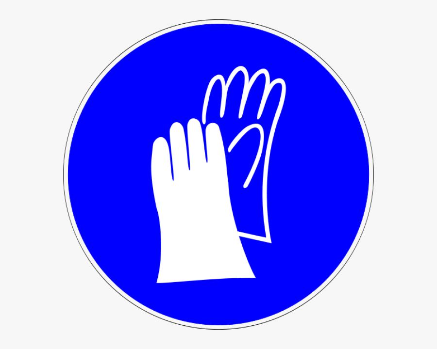 Laboratory Safety Signs Pinterest - Lab Safety Symbols Gloves, Transparent Clipart