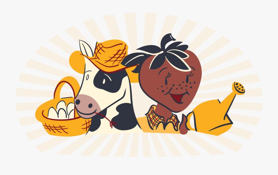 Farm Clipart Ranch - Cartoon, Transparent Clipart