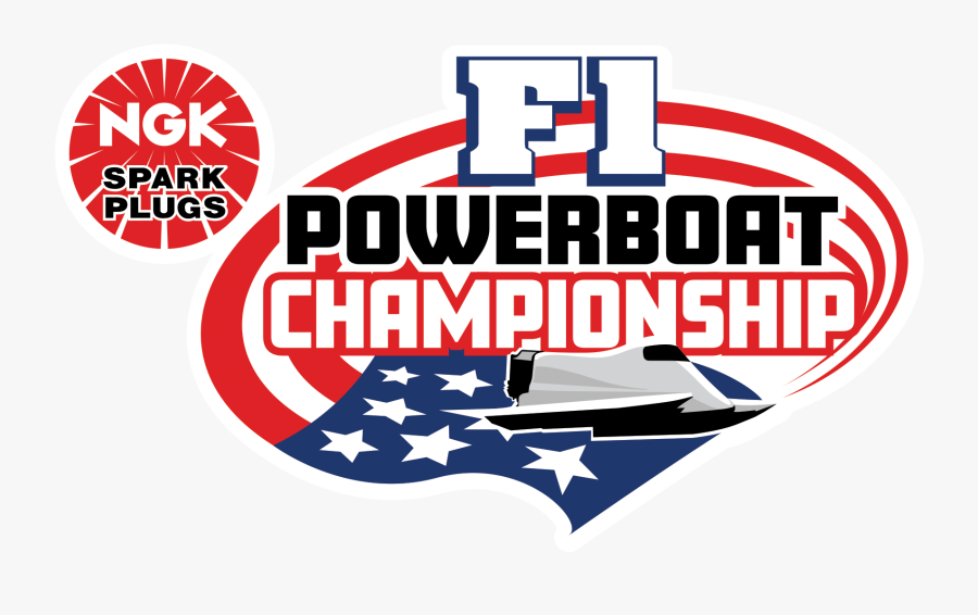 """We""""re Back After Waking The Lake Last Year, The Ngk - F1 Powerboat Logo, Transparent Clipart"""