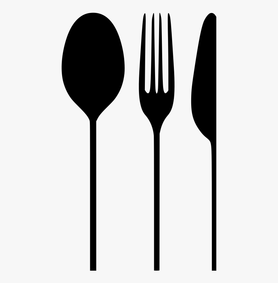 Clip Art Knife Fork Spoons - Spoon Fork Knife Png, Transparent Clipart