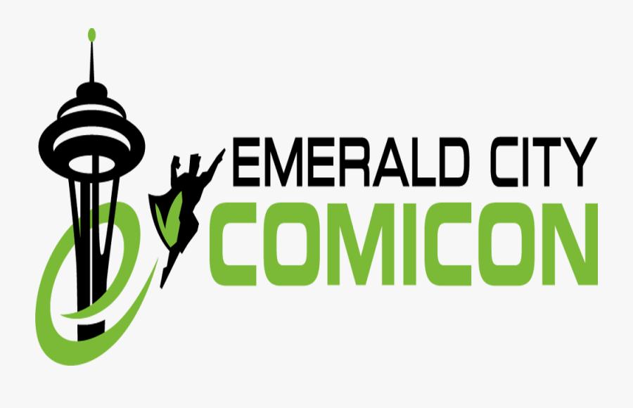 Top 10 Reasons Emerald City Comic Con Was Amazing - Emerald City Con Logo, Transparent Clipart