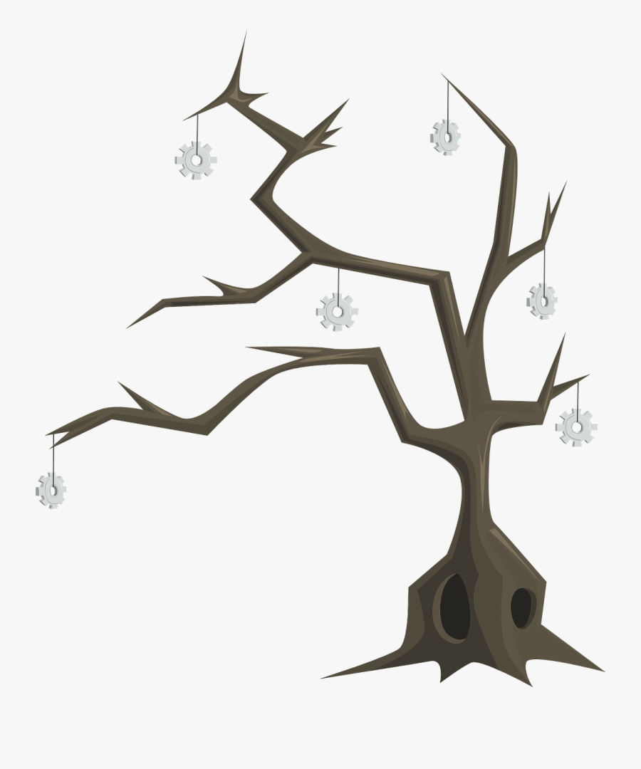 Batang Pohon Gambar Pohon Animasi Free Transparent Clipart