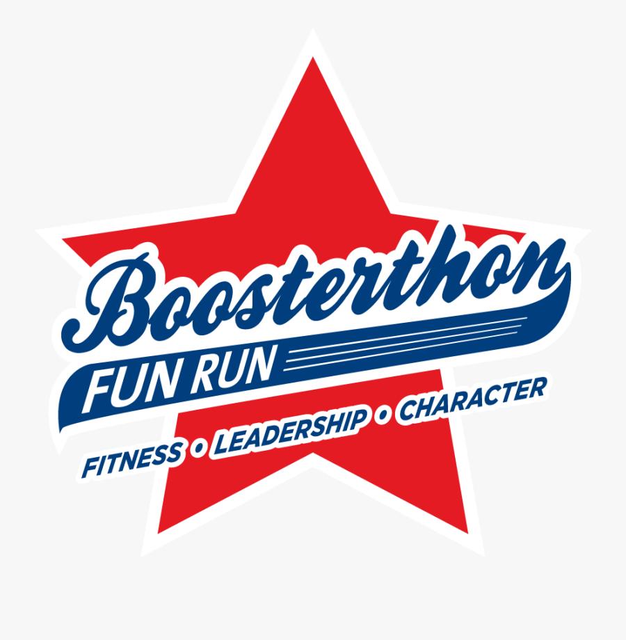 Transparent Pep Rally Clipart - Boosterthon Fun Run, Transparent Clipart