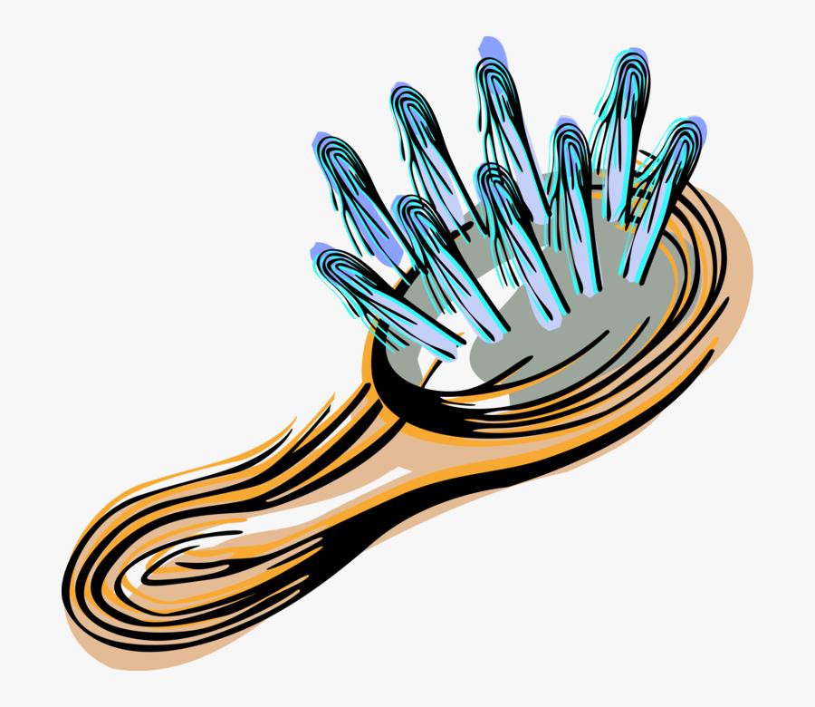 Transparent Hair Brush Clipart Png - Clip Art, Transparent Clipart