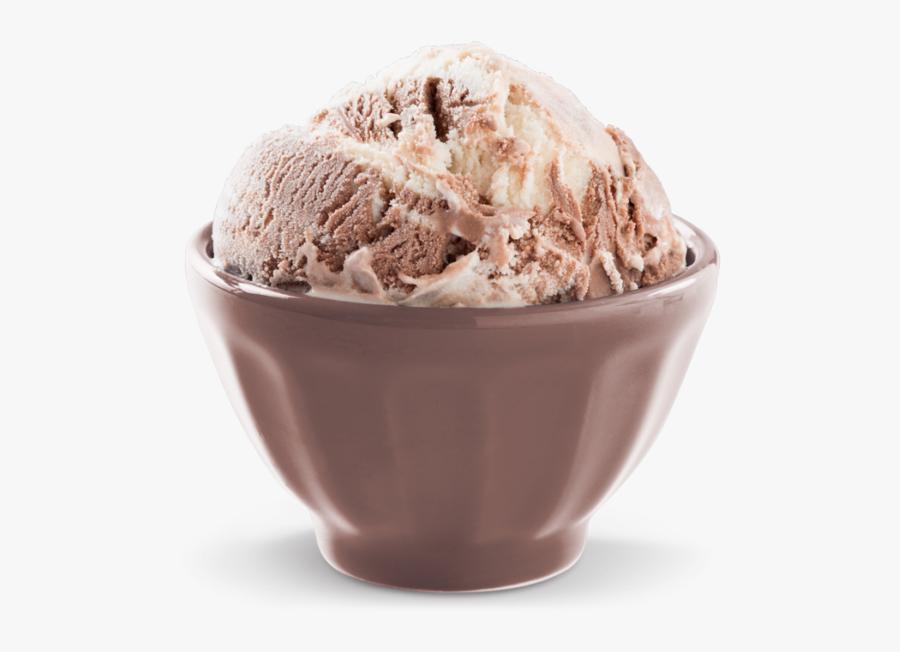 Chocolate Vanilla Ice Cream Clipart - Soy Ice Cream, Transparent Clipart
