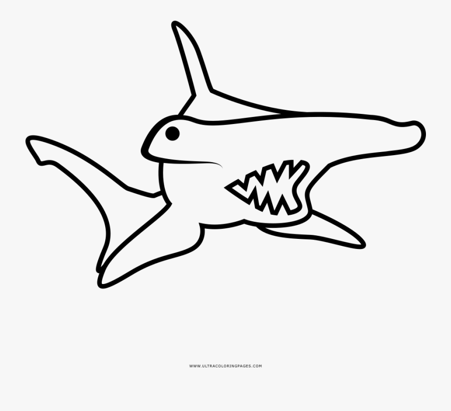 Hammerhead Shark Coloring Page Pages Excellent Full ...