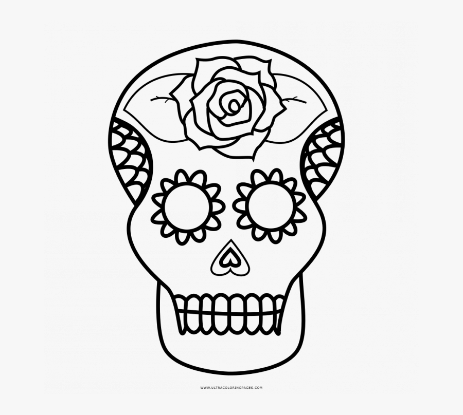 Medium Size Of Coloring Page Sugar Skull Coco Coloring Pages Free Transparent Clipart Clipartkey