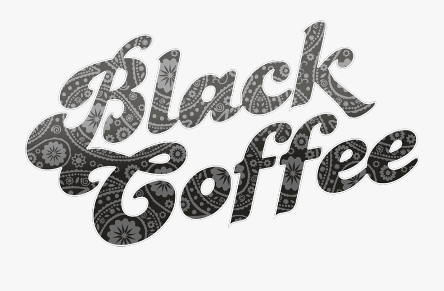 Black Coffee Band, Transparent Clipart