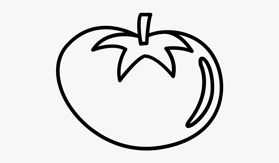 Tomato Png Black And White, Transparent Clipart
