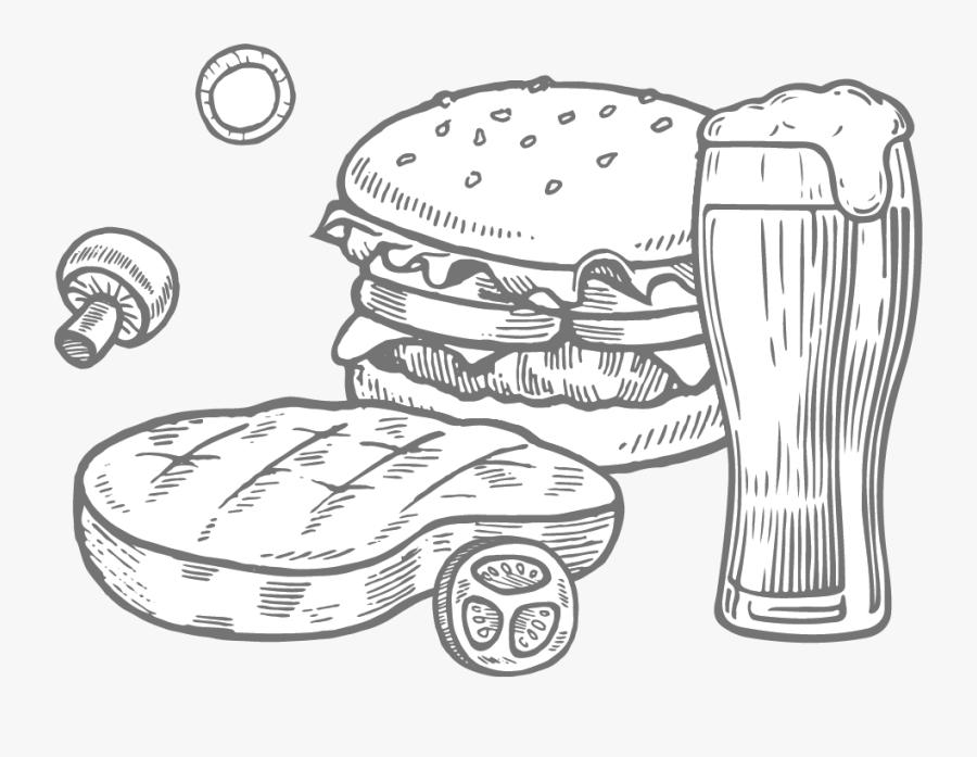 Central Station Bar & Grill, Dodge City, Ks - Illustration, Transparent Clipart