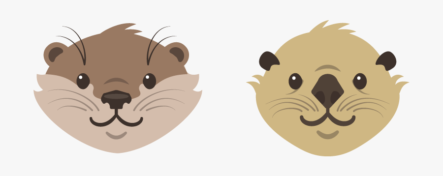 Clip Art Sea North American Others - Otter Png, Transparent Clipart