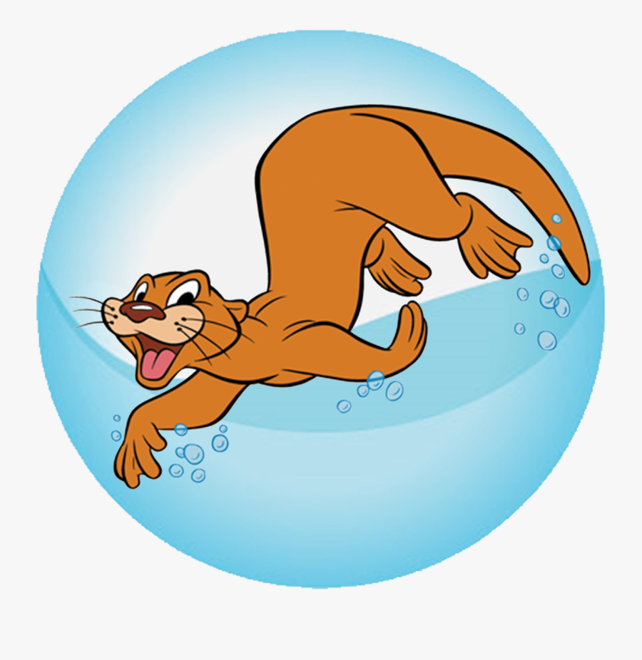 Red Cross Sea Otter, Transparent Clipart