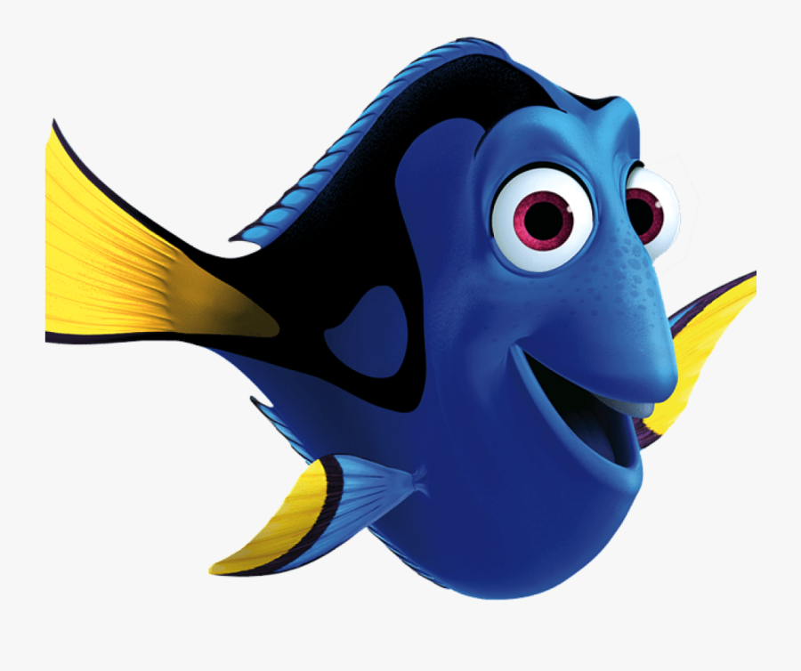 Dory Clipart Brain Clipart - Finding Nemo Characters Png, Transparent Clipart