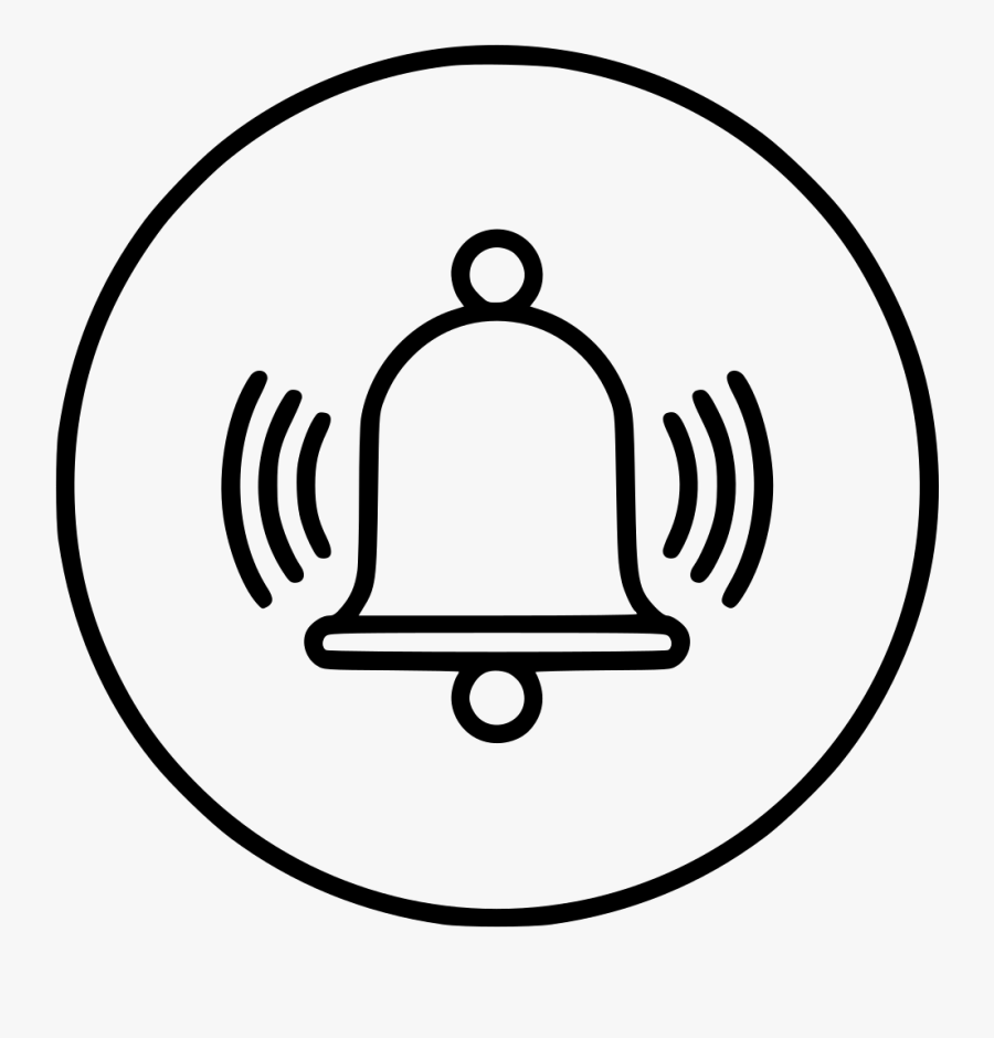Transparent School Bell Ringing Clipart - Alarm Icon Png, Transparent Clipart