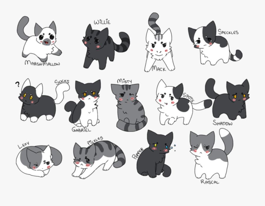 Kitten Clipart Gray Cat - Fan Art Pickles Neko Atsume, Transparent Clipart