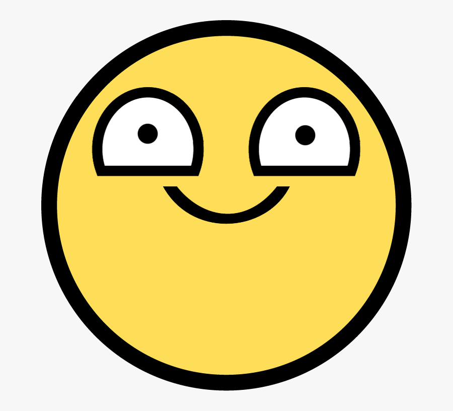 Awesome Face / Epic Smiley - Awesome Face Smile, Transparent Clipart
