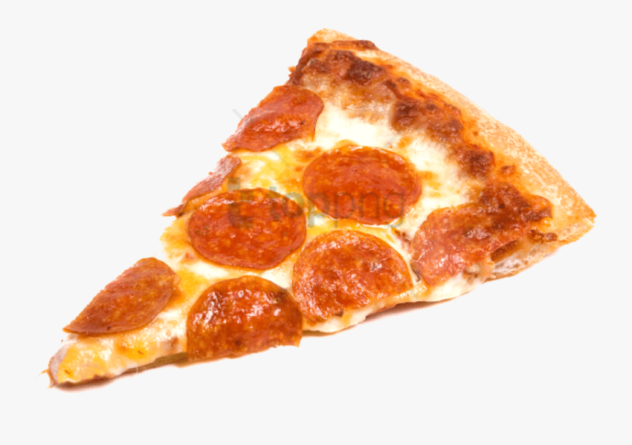 Pepperoni Pizza Slice Png, Transparent Clipart