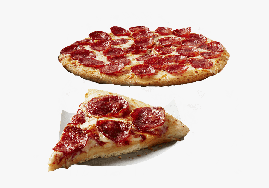 Clip Art Pepperoni Pizza Images - Pizza, Transparent Clipart
