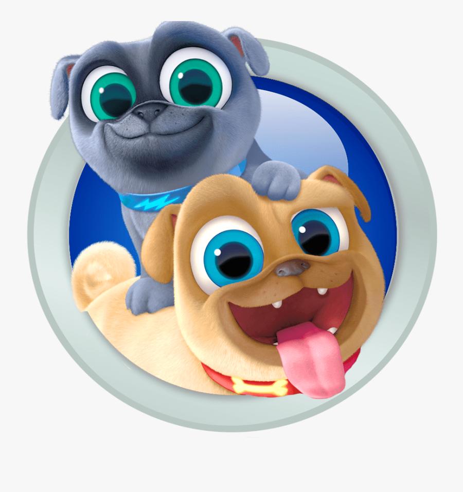 Puppy Dog Pals Emblem - Puppy Dog Pals Vector, Transparent Clipart