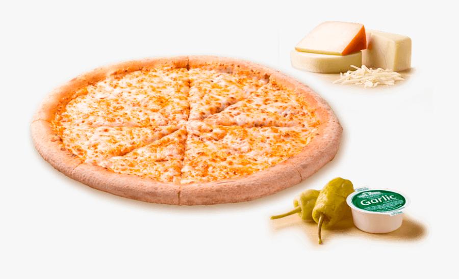 3 Quesos Pepperoni 03int - Transparent Papa John's Pizza Png, Transparent Clipart
