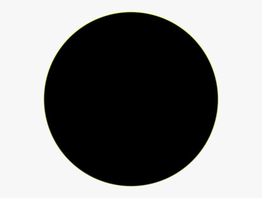 Black Circle Clip Art - Circle, Transparent Clipart