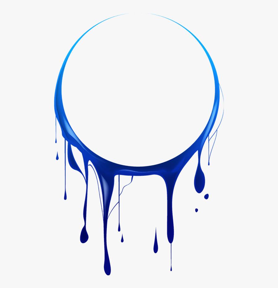 Mq Blue Circle Circles Paint Splash - Circle Paint Splash Png, Transparent Clipart