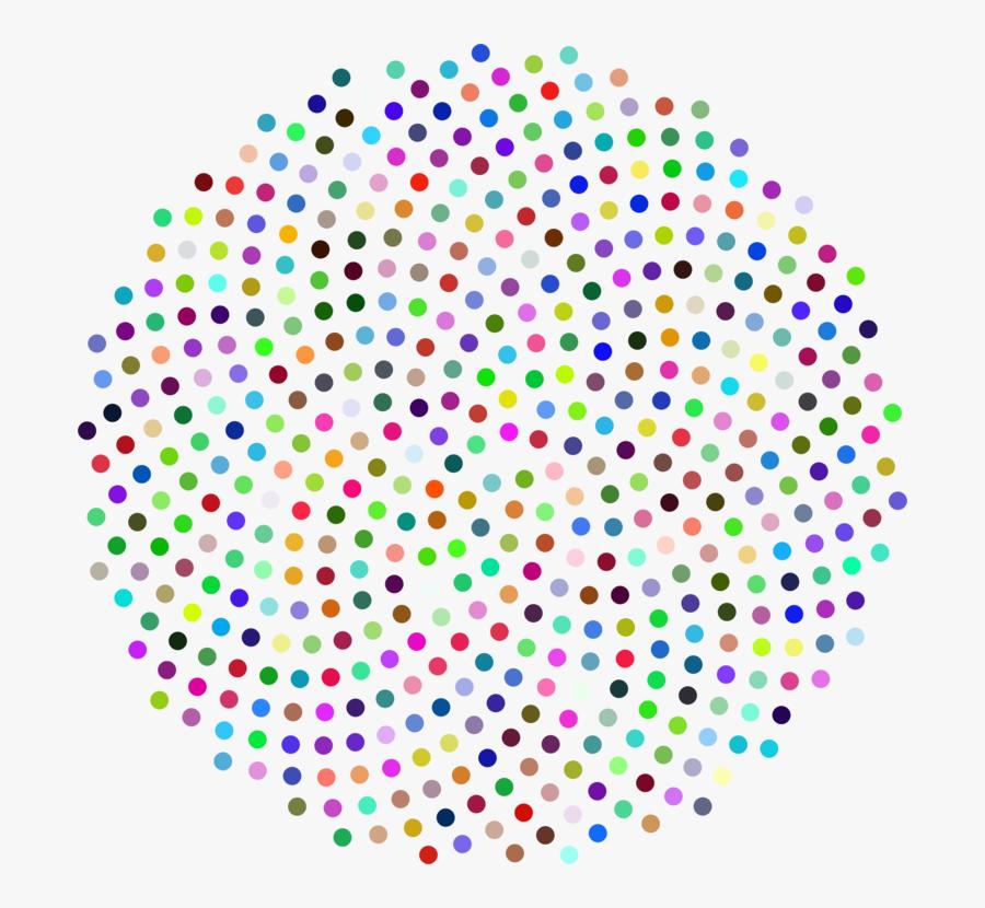 Symmetry,circle,line - Circle Point Color Png, Transparent Clipart