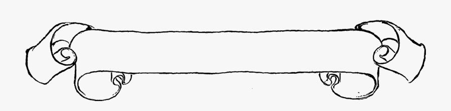 Clip Art Horizontal Scroll Clip Art - Horizontal Scroll Clip Art, Transparent Clipart