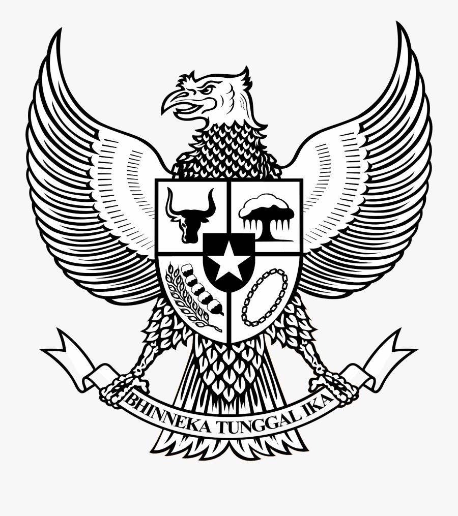 Logo Garuda Pancasila Bw Hitam Putih Pinterest Garuda Hitam Putih Png Free Transparent Clipart Clipartkey