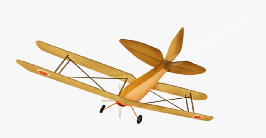 Airplane Aircraft Flight - Propeller-driven Aircraft, Transparent Clipart
