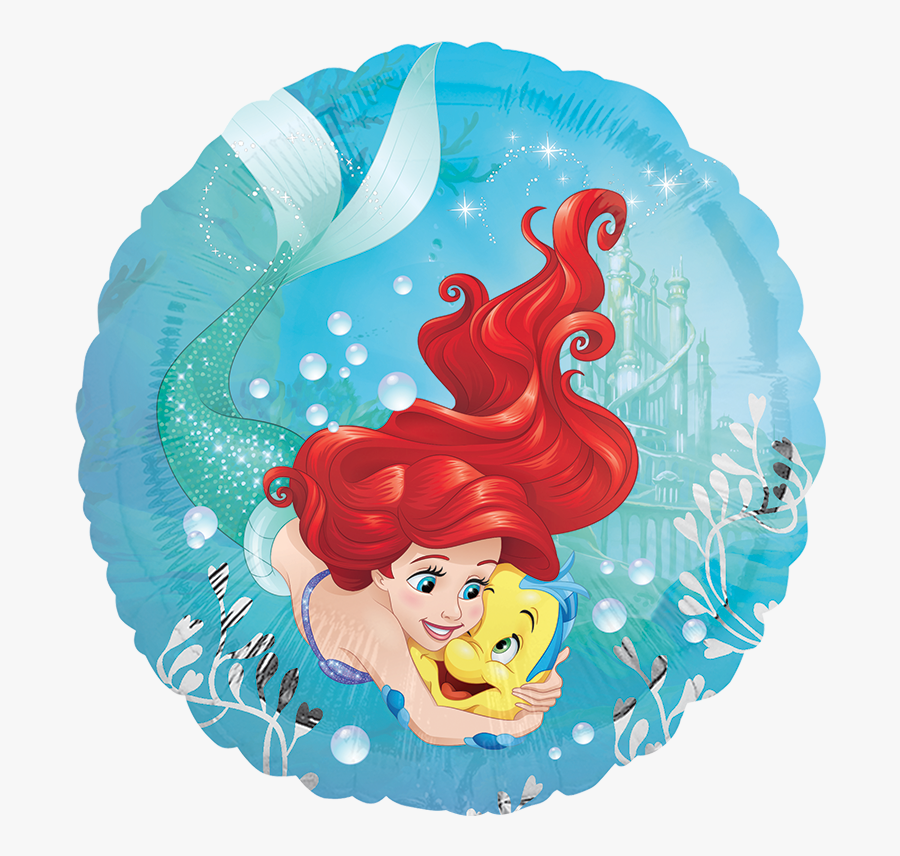 Transparent La Sirenita Png - Little Mermaid Party Supplies Nz, Transparent Clipart
