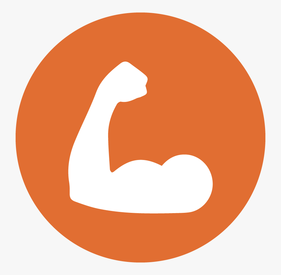 Strong Man Icon , Png Download - Strong Man Icon, Transparent Clipart