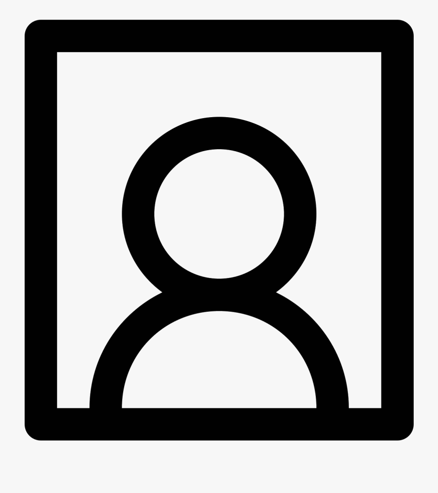 The Icon Portrait Is A Medium Sized Square - Circle, Transparent Clipart