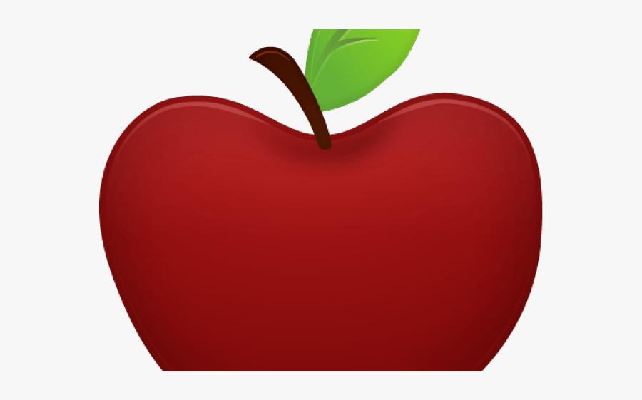Transparent Apple Cliparts - Transparent Background Clipart Apple Png, Transparent Clipart