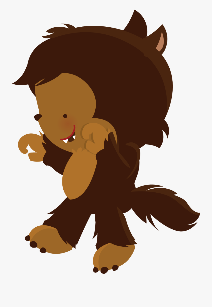Little Red Riding Hood Wolf Png, Transparent Clipart