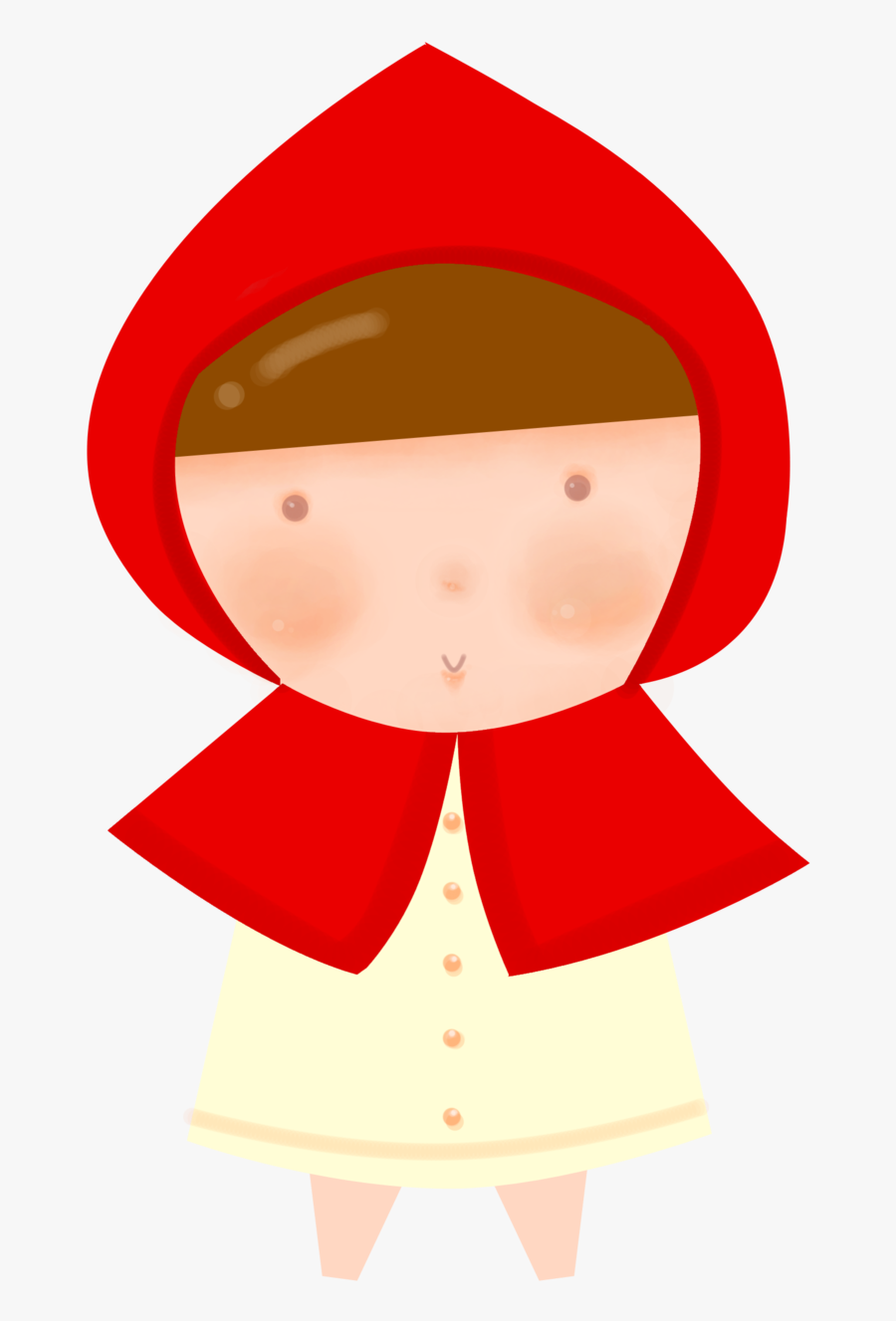 Little Png Google S - Red Riding Hood Png, Transparent Clipart