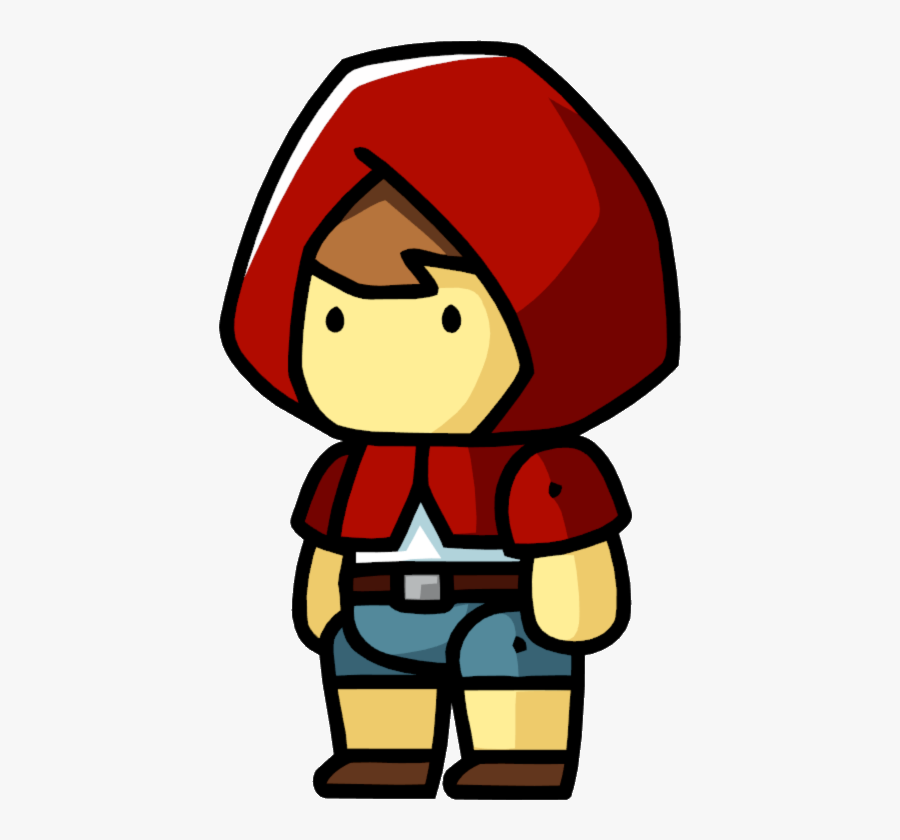 Transparent Little Red Riding Hood Png - Little Red Riding Hood As A Boy, Transparent Clipart