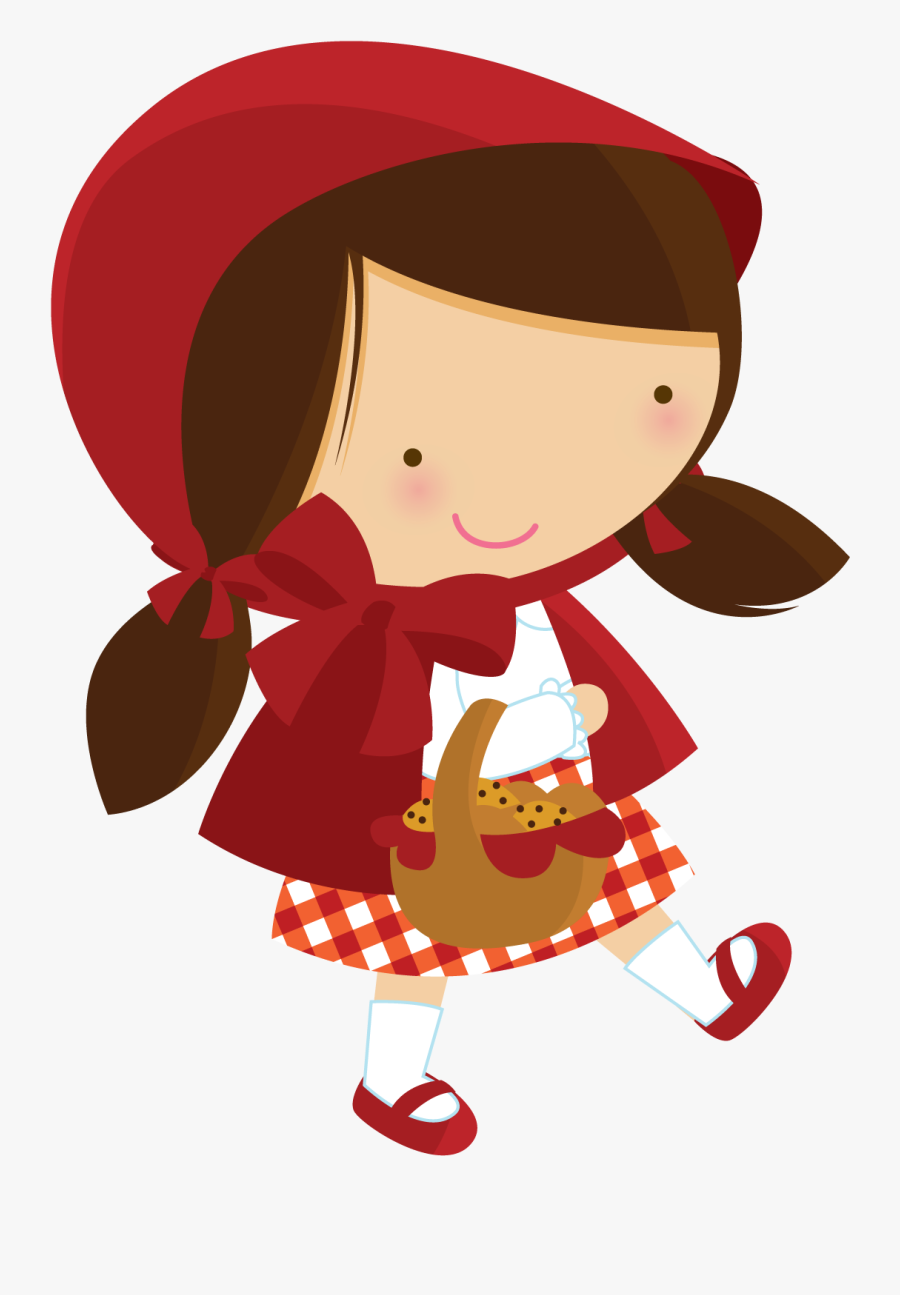 Fantoches Para Hist Ria - Little Red Riding Hood Png Clipart, Transparent Clipart