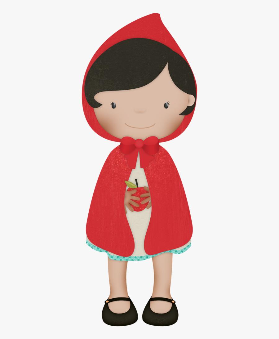 Flergs Littlered Girl2 - Little Riding Hood Clipart, Transparent Clipart