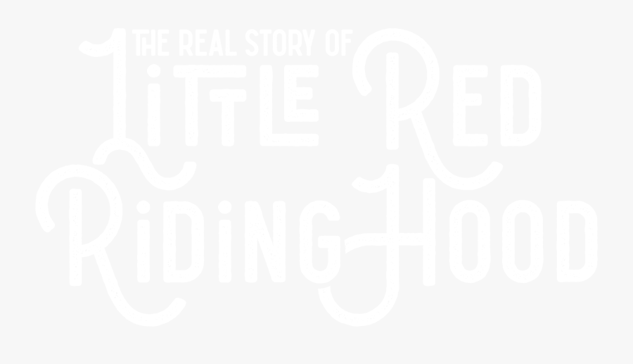 The Real Story Of Little Red Riding Hood - Little Red Riding Hood Letras, Transparent Clipart
