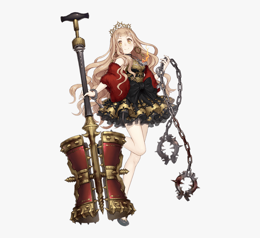 Little Red Riding Hood Drawn By Ji No - Red Riding Hood Luxury Sinoalice Character, Transparent Clipart