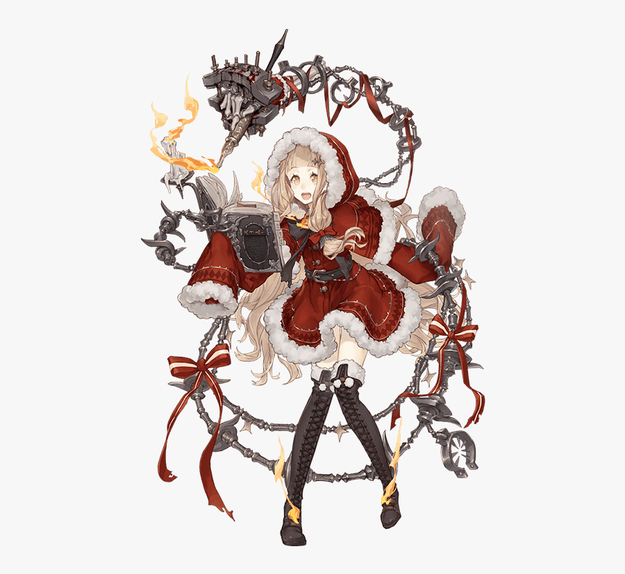 Little Red Riding Hood Drawn By Ji No - Sinoalice Red Riding Hood, Transparent Clipart