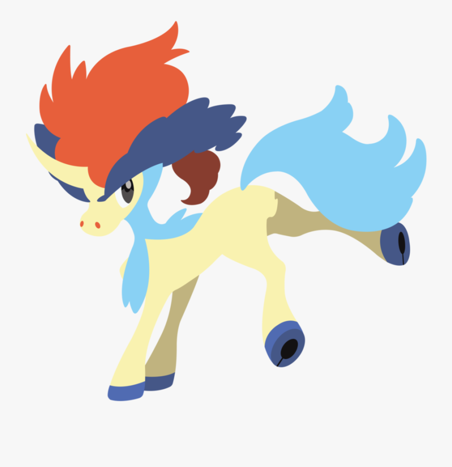 Keldeo By Squiggle-e - New Legendary Pokemon Black And White 2, Transparent Clipart